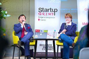 Startup Grind Tokyoにてシリコンバレーで活躍中のMichelle Messina氏と対談