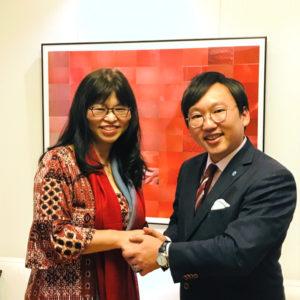 【りそな銀行コラム】株式会社ウィズグループ 代表取締役 奥田浩美氏と対談しました
