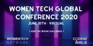10万人規模のオンラインイベント「Women Tech Global Conference 2020 Virtual (#WTGC)」開催