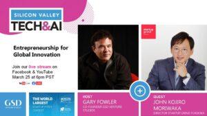 ユニコーンを2社作った経験を持つ、シリコンバレーの起業家 Gary Fowler氏の番組「Silicon Valley Tech&AI」に生出演しました。